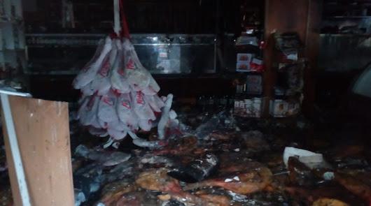 Las llamas arrasan el Restaurante Lamarca de Gregorio Marañón