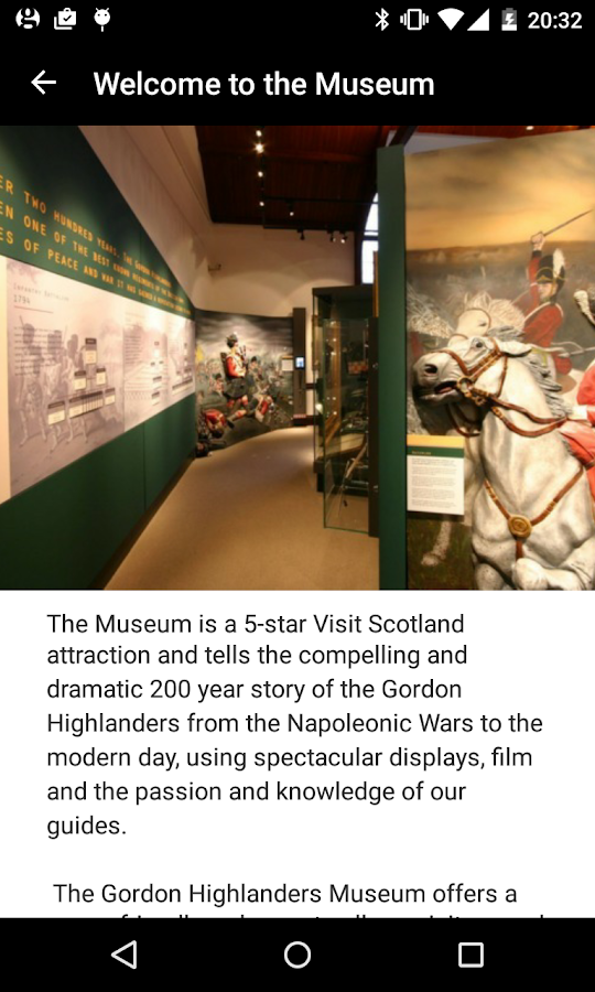 The Gordon Highlanders Museum- screenshot