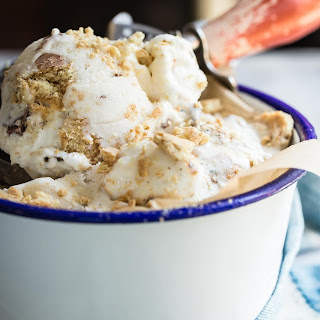 Toasted Marshmallow S'mores Ice Cream