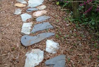 Photo: Slate and Rock Paths