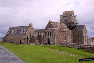 Photo: Abadía de Iona fundada por St Columba
