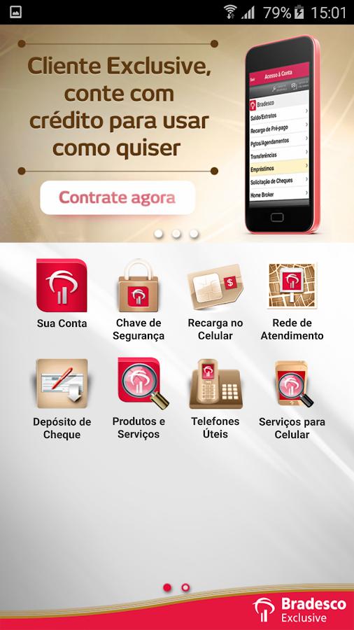 Bradesco Exclusive- screenshot