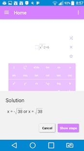 Math Solver for all - náhled