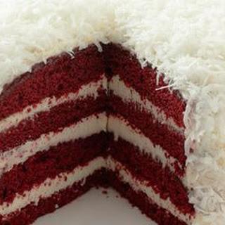 Red Velvet Snowball Cake.