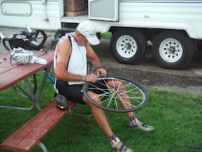 Photo: Day 28 Murdo to Chamberlain SD 95 miles 3600' climbing: who is that with another flat