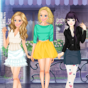 Dress Up Games Party Fashion icon