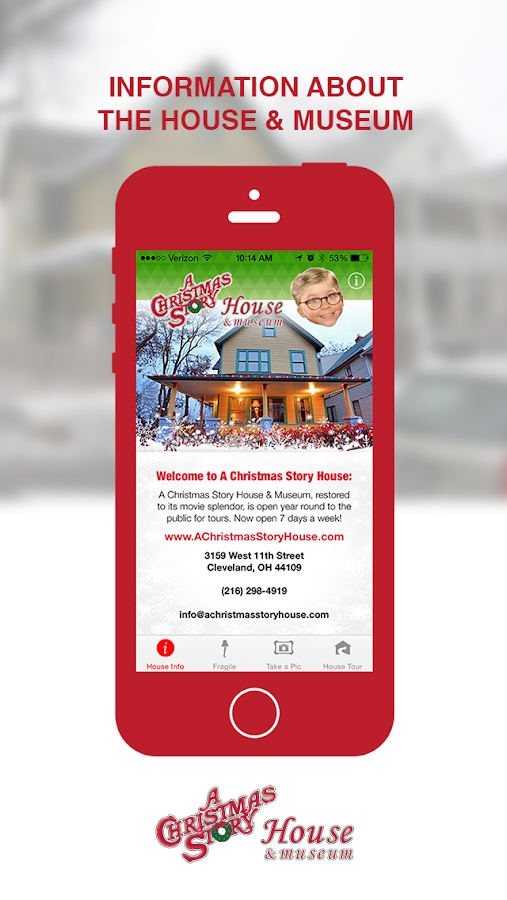 Christmas Story House Museum- screenshot