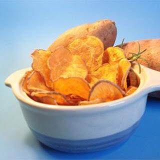 Cinnamon Sweet Potato Chips.