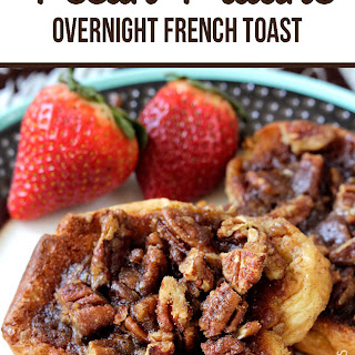 Overnight Pecan Praline French Toast