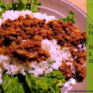 Crock Pot Ground Beef Rice Recipes.
