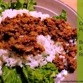 Crock-Pot Beef & Rice.