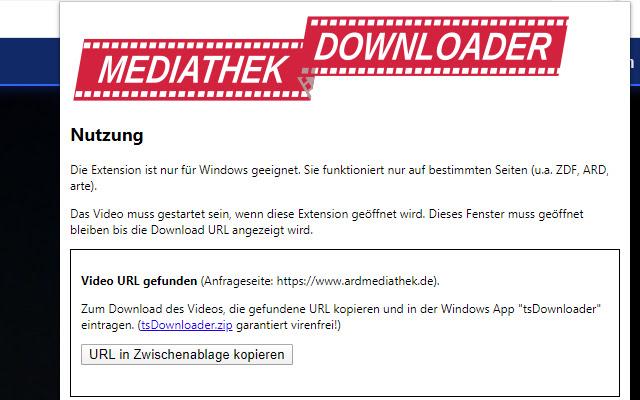 Mediathek Video Downloader