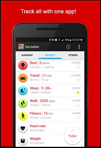 Pedometer & Fitness Tracker screenshot 2