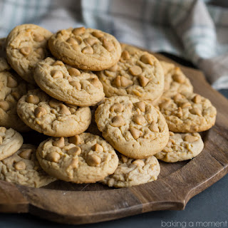 Soft Double Peanut Butter Chip Cookies