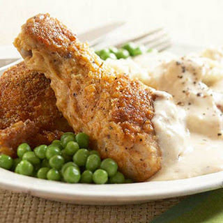 Maryland Fried Chicken with Creamy Gravy.