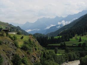 Photo: Lavin: Blick ins untere Unterengadin (Ost)
