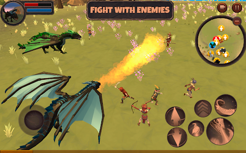 Dragon Simulator 3D: Adventure Game  Apk Download For Android and Iphone 2