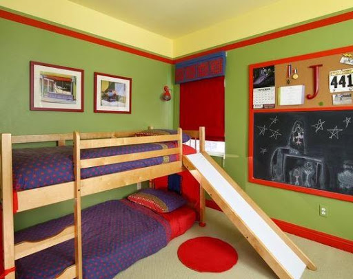 二段ベッドのアイデア
