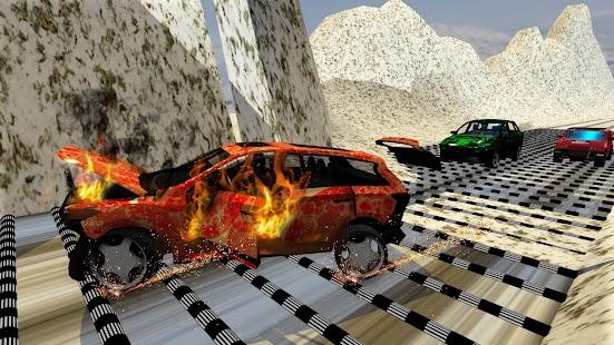 100+ Bumps Speed Car Crash Engine Challenge - náhled