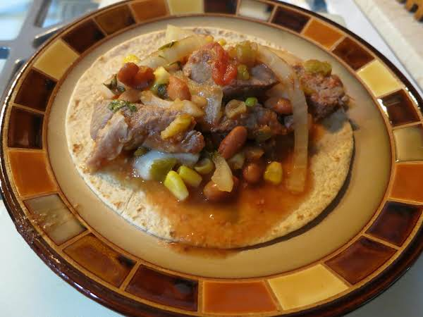 Mexican Round Steak Crock Pot Recipe | Just A Pinch Recipes