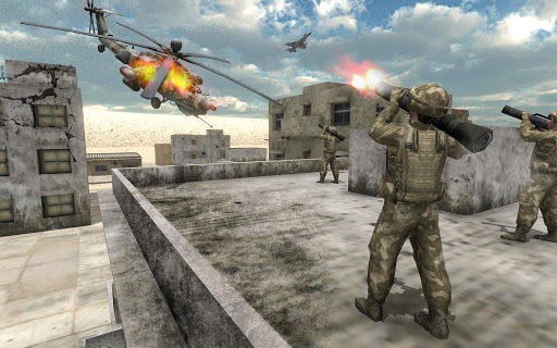 Helicopter Simulator 3D Gunship Battle Air Attack Apk 2