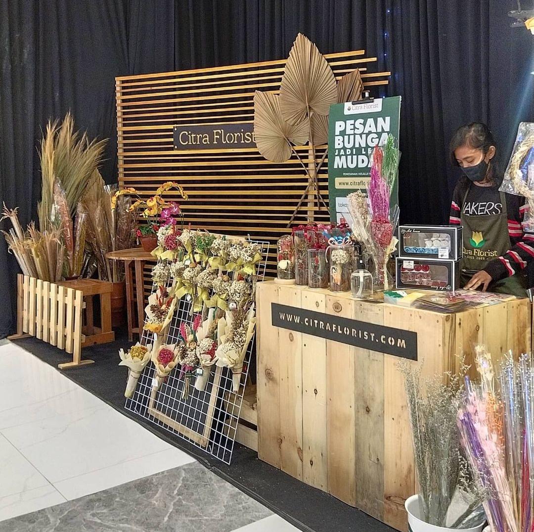 Citra Florist sudah bertransformasi dengan digitalisasi bisnis.