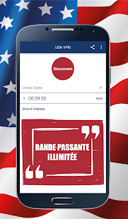 USA VPN Capture d'écran