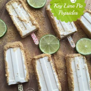 Key Lime Pie Popsicles.