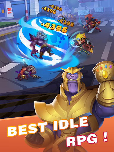 Idle Battles:Heroes vs Zombies - Google Play のアプリ