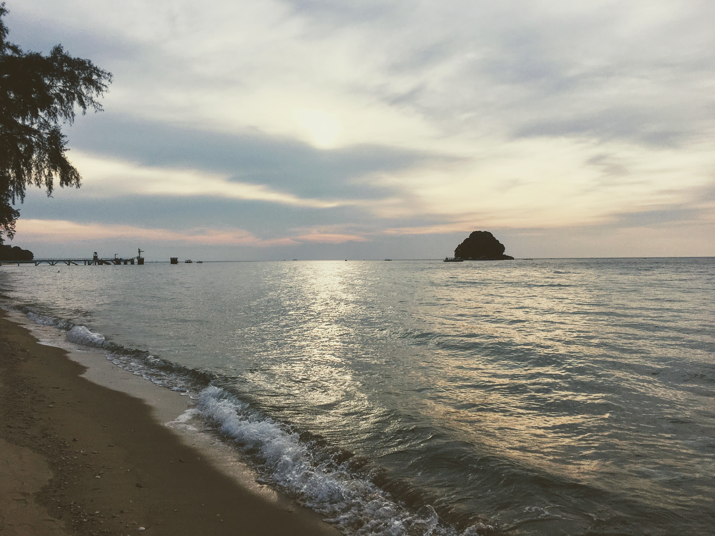 Sunset at the Resort. This is our honest review of Berjaya Tioman