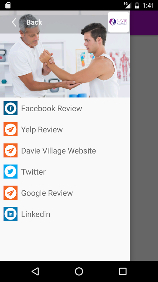 Davie Village Massage Therapy- screenshot