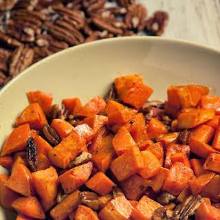 Pecan and Sweet Potato Side.
