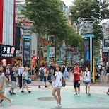 popular Ximending youth fashion district downtown Taipei in Taipei, T'ai-pei county, Taiwan