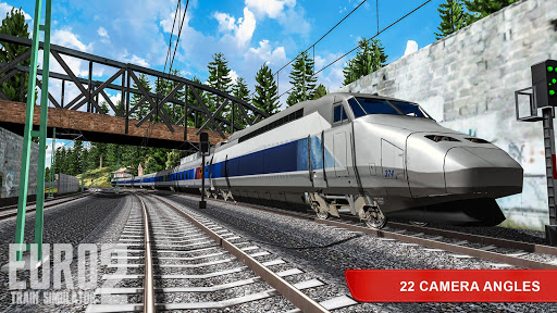 Euro Train Simulator 2 APK MOD – Pièces de Monnaie Illimitées (Astuce) screenshots hack proof 2