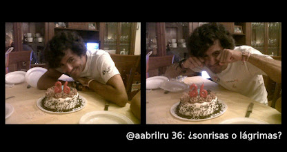 Photo: @aabrilru 36: ¿sonrisas o lágrimas?