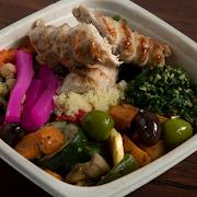 Chicken Kafta Salad Bowl