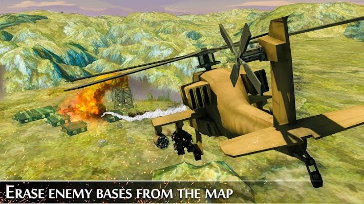 Military Helicopter War - screenshot