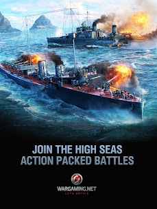 World of Warships Blitz 0.7.3 Apk (Unlimited Money) MOD 7