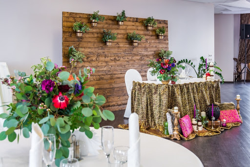 Банкетный зал в ресторане SkyPoint для свадьбы