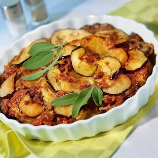 Zucchini-Moussaka.