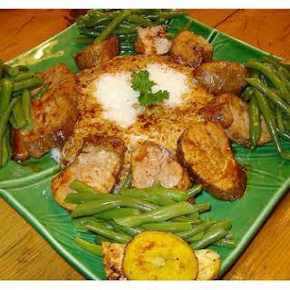 Glazed Pork Tenderloin.