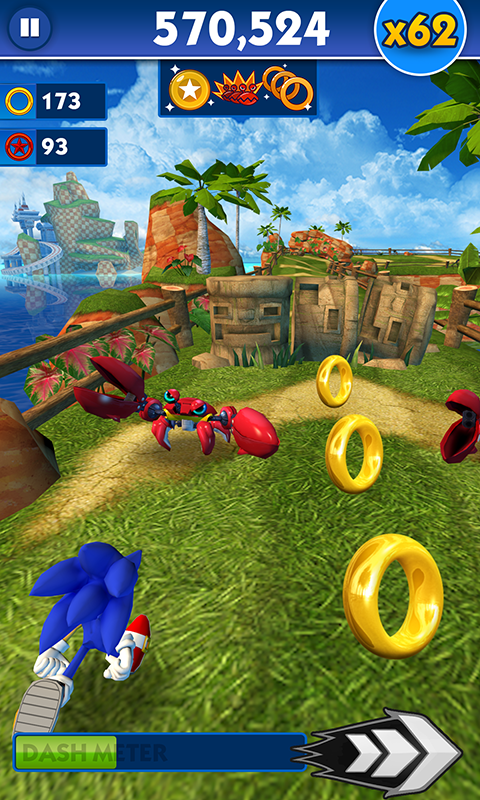 Sonic Dash- screenshot