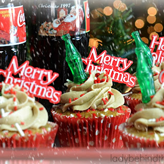Semi Homemade Coca Cola Cupcakes