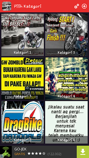 DP Anak Racing Keren