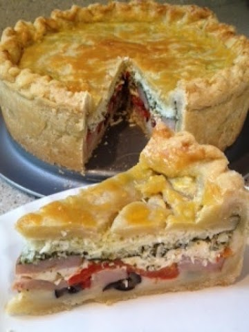 Italian Torta Sandwiches Recipe