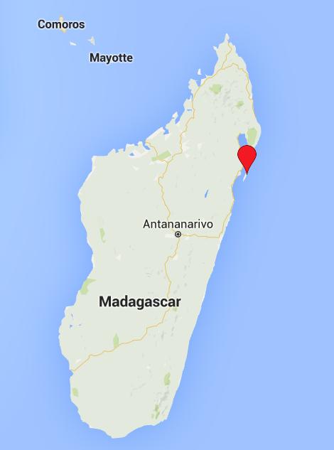 Île Sainte-Marie (Nosy Boraha) NE Madagascar