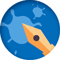 Out of Ink - The Drawing Game to Train your Brain icon