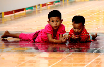 Photo: Year 2 Day 55 -  Young Kids in the Temple