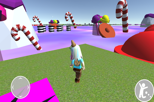 Obby cookie swirl Rblx's candy land android2mod screenshots 4