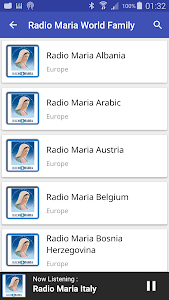 Radio Maria World Family screenshot 2